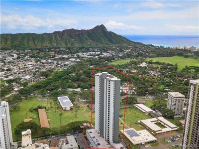 Honolulu Condo/Townhouse For Sale: 2600 Pualani Way #1404