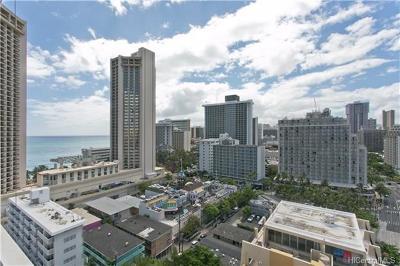 Hawaii County, Honolulu County Condo/Townhouse For Sale: 2427 Kuhio Avenue #1806