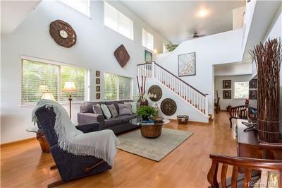 Mililani Single Family Home For Sale: 95-210 Melekai Place