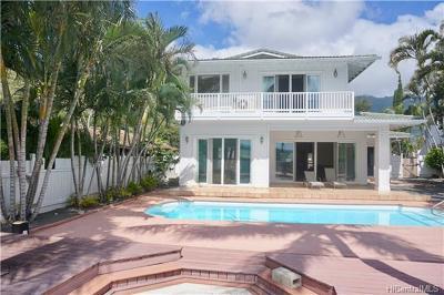 Honolulu County Single Family Home For Sale: 6637 Hawaii Kai Drive