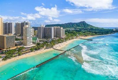 Hawaii County, Honolulu County Condo/Townhouse For Sale: 2500 Kalakaua Avenue #304