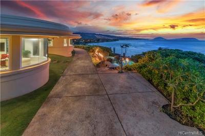 Honolulu HI Single Family Home For Sale: $5,995,000