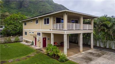 Kaaawa Single Family Home For Sale: 51-264a Kamehameha Highway