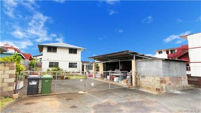 Honolulu Single Family Home For Sale: 1447 Middle Street