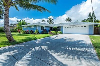 Honolulu County Single Family Home For Sale: 162 Kaha Street