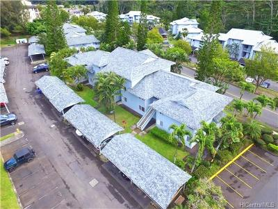 Mililani Condo/Townhouse In Escrow Showing: 95-802 Wikao Street #R205
