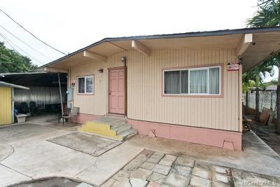 Waipahu Single Family Home For Sale: 94-125 Pahu Street #27
