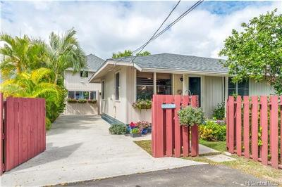 Kailua Single Family Home For Sale: 336c Keaniani Street