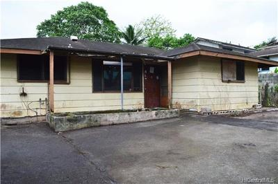 Kaneohe Single Family Home For Sale: 45-448 Koa Kahiko Street