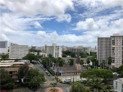 Honolulu County Condo/Townhouse For Sale: 1330 Heulu Street #PH2