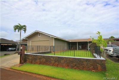Mililani Single Family Home For Sale: 94-225 Kalalani Place
