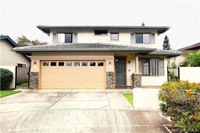 Single Family Home For Sale: 94-201 Hopoe Place