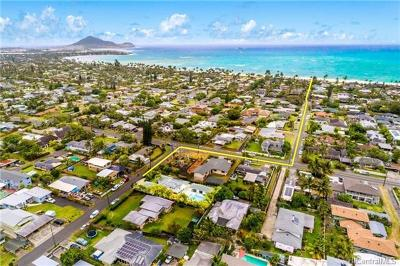 Kailua HI Single Family Home For Sale: $1,598,000