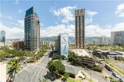Honolulu Condo/Townhouse For Sale: 1925 Kalakaua Avenue #1206