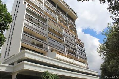 Honolulu County Condo/Townhouse For Sale: 1010 Wilder Avenue #502
