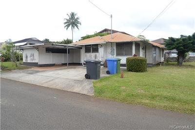 Wahiawa Single Family Home In Escrow Showing: 1954 California Avenue