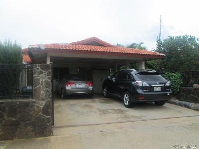 Waipahu Single Family Home For Sale: 94-945 Hiapo Street
