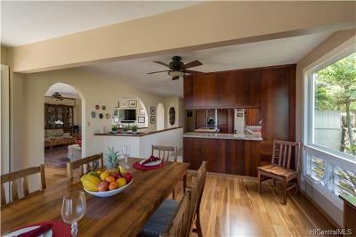 Honolulu County Single Family Home For Sale: 1112 Kahului Street
