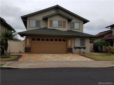 Kapolei Single Family Home For Sale: 91-1429 Wahane Street