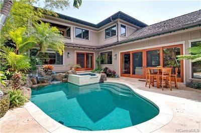 Single Family Home For Sale: 4287 Kahala Avenue