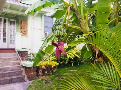 Honolulu Single Family Home For Sale: 3450 Paalea Street