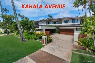 Honolulu Single Family Home For Sale: 4714 Kahala Avenue