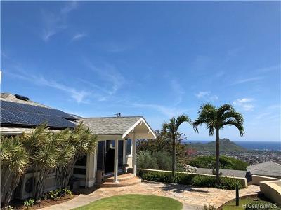 Honolulu Single Family Home For Sale: 3600 Kawelolani Place