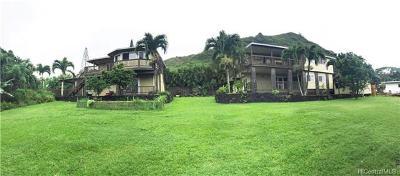 Hauula Single Family Home For Sale: 53-412 Kamehameha Highway