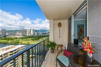 Honolulu Condo/Townhouse For Sale: 2345 Ala Wai Boulevard #1804