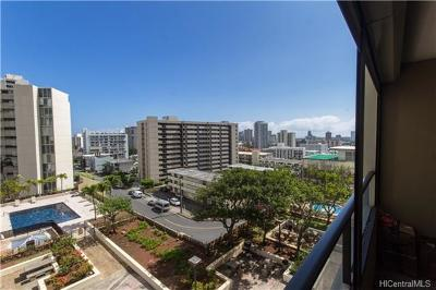 Honolulu HI Condo/Townhouse For Sale: $580,000