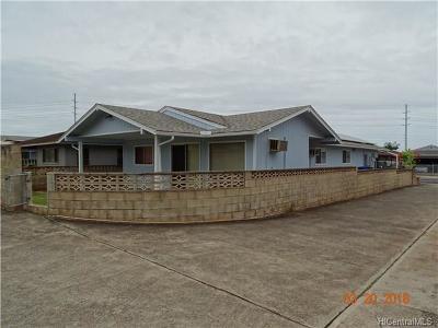 Waipahu Single Family Home In Escrow Showing: 94-772 Kaaholo Street