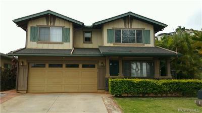 Kapolei Single Family Home For Sale: 92-1346 Punawainui Street