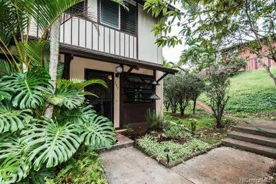 Mililani Condo/Townhouse For Sale: 94-1448 Lanikuhana Avenue #397