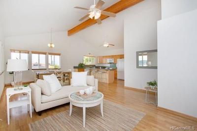 Honolulu Single Family Home For Sale: 1017 Alewa Drive #F1