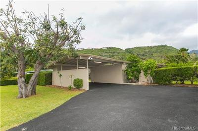 Honolulu HI Single Family Home For Sale: $1,250,000