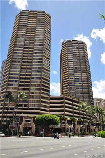 Honolulu Condo/Townhouse For Sale: 1778 Ala Moana Boulevard #1406