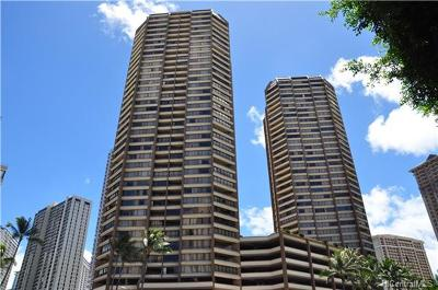 Honolulu Condo/Townhouse For Sale: 1778 Ala Moana Boulevard #2707
