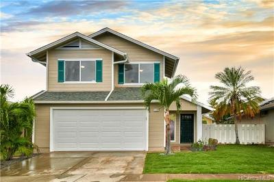 Ewa Beach Single Family Home For Sale: 91-1016 Hooilo Place