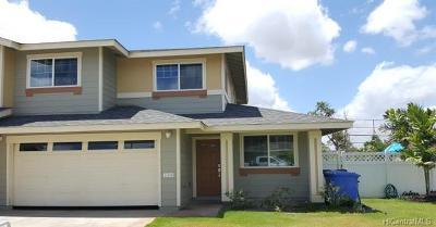 Ewa Beach Single Family Home For Sale: 91-1354b Kilipue Street #902