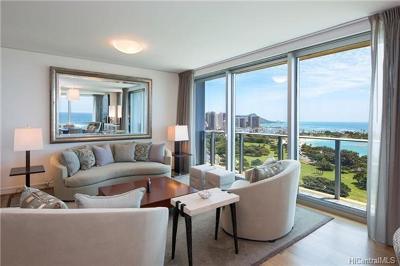Honolulu Condo/Townhouse For Sale: 1288 Ala Moana Boulevard #18D