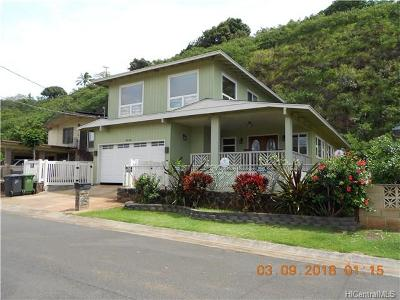 Single Family Home In Escrow Showing: 98-415 Ponohana Loop
