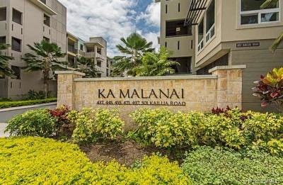 Condo/Townhouse In Escrow Showing: 455 Kailua Road #4101