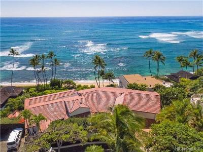 Honolulu Single Family Home For Sale: 3619 Diamond Head Road