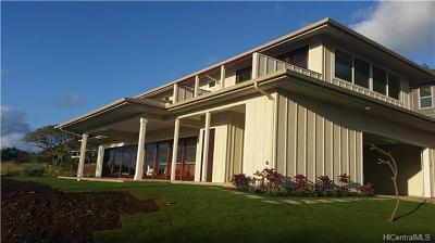 Haleiwa Single Family Home For Sale: 61-132 Tutu Street