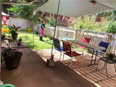 Mililani Single Family Home For Sale: 95-1321 Wikao Street #54