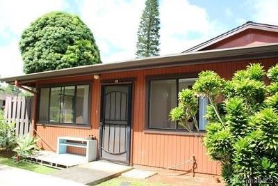Wahiawa Condo/Townhouse In Escrow Showing: 2069 California Avenue #25B