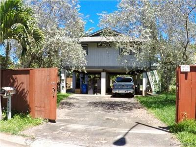 Single Family Home In Escrow Showing: 67-213 Niumaloo Place