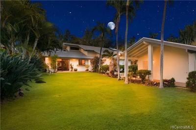Single Family Home In Escrow Showing: 361 Kealahou Street