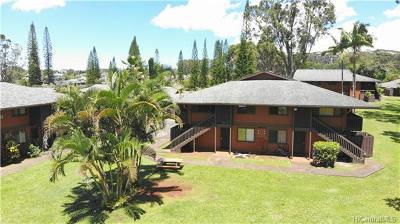 Wahiawa Condo/Townhouse For Sale: 2069 California Avenue #10B