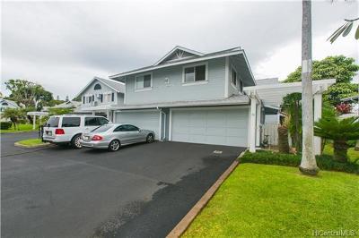 Waipahu Condo/Townhouse For Sale: 94-816a Lumiauau Street #FF104